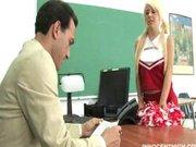 Tessa Taylor a szőke diáklány tanárával szexel