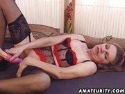 Érett nő szexel