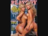 VV Anett és VV Ágica a Playboyban