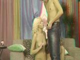 Szőke diáklány seggbe gyűrve - 3D porno