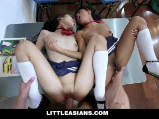 Iskolás lányok és a dákó