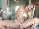 Amatőr milf szexi picsával
