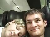 Hosszú vonatúton kemény szopás