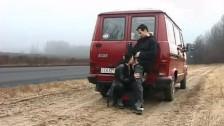 Magyar amatőr pár az úton