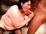 Jól meglőcsölt mature nő