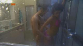Fanni és Denis újabb szex a zuhany alatt  - VV7 po