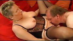 Német idős pár a hálóban