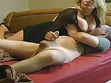 Mature nő fiatal tinivel