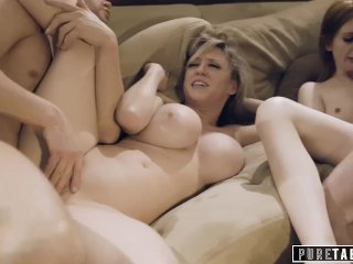 Amatőr kemény családi szex
